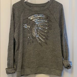 Abercrombie embellished sweatshirt